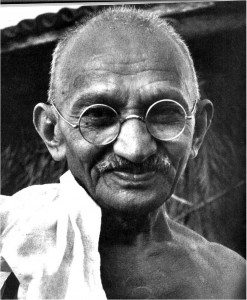 Gandhi on Jesus